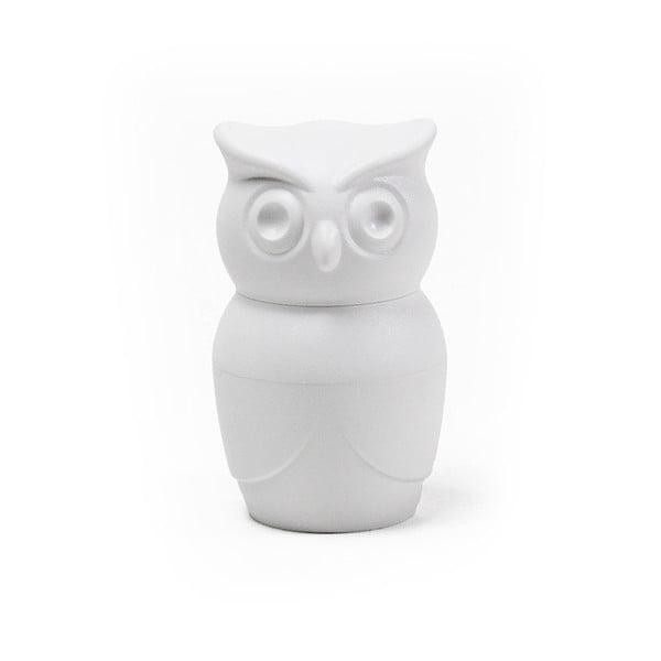 Râșniță pentru piper Qualy&CO Owl, alb
