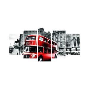 Vícedílný obraz Black&White no. 45, 100x50 cm