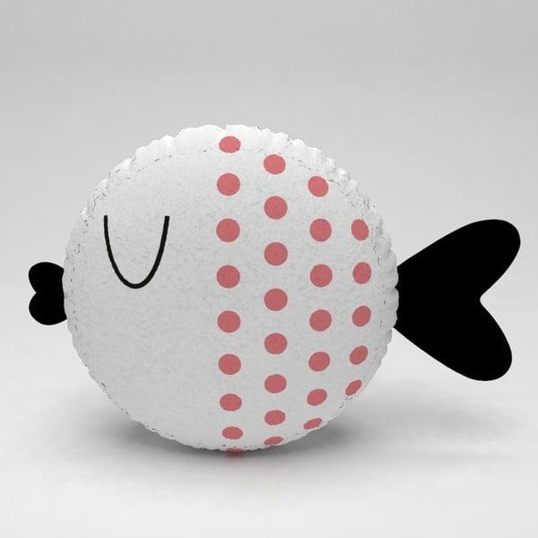 Detský vankúšik OYO Kids Fish With Pink Dots