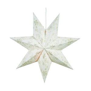 Svítící hvězda Aratorp White, 45 cm