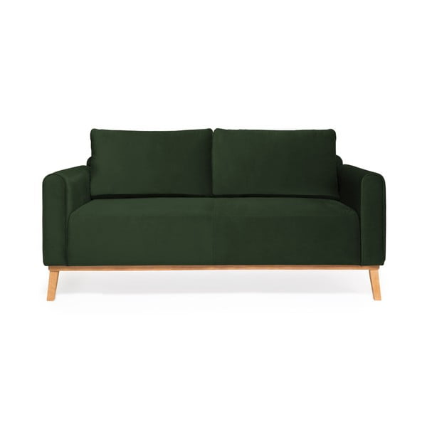 Tmavě zelená sedačka Vivonita Milton Trend, 188 cm