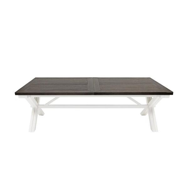 Bílý jídelní stůl Canett Skagen Dining, 240 cm