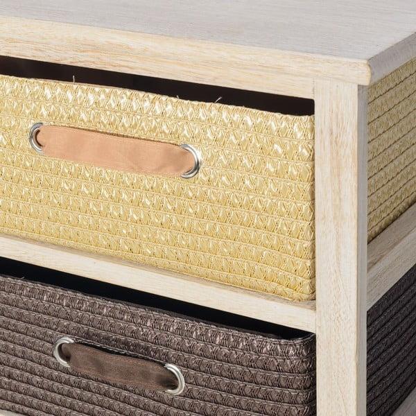 Komoda se 2 zásuvkami Confort, 40x41 cm