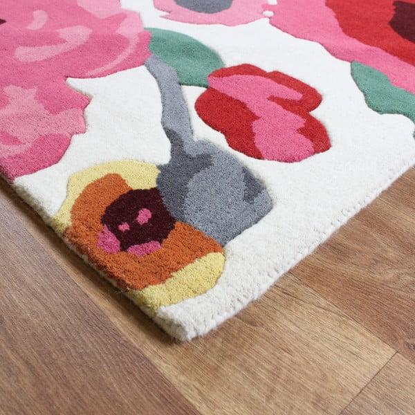 Vlněný koberec Calisto White 160x230 cm