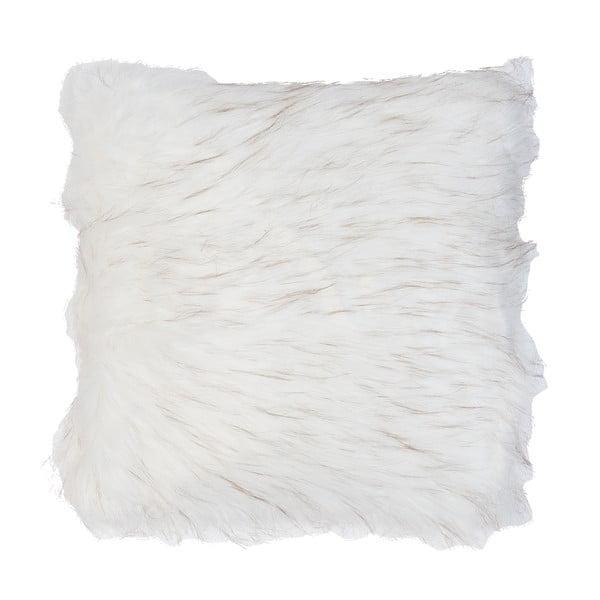 Bílý povlak na polštář Clayre & Eef Fur