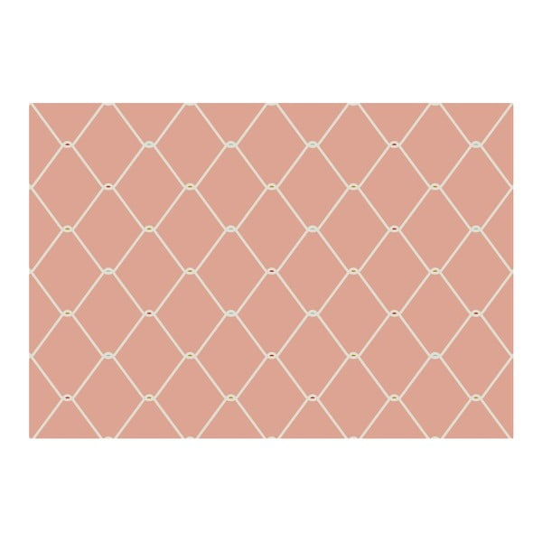 Covoraș Zerbelli Misma, 75 x 52 cm, roz
