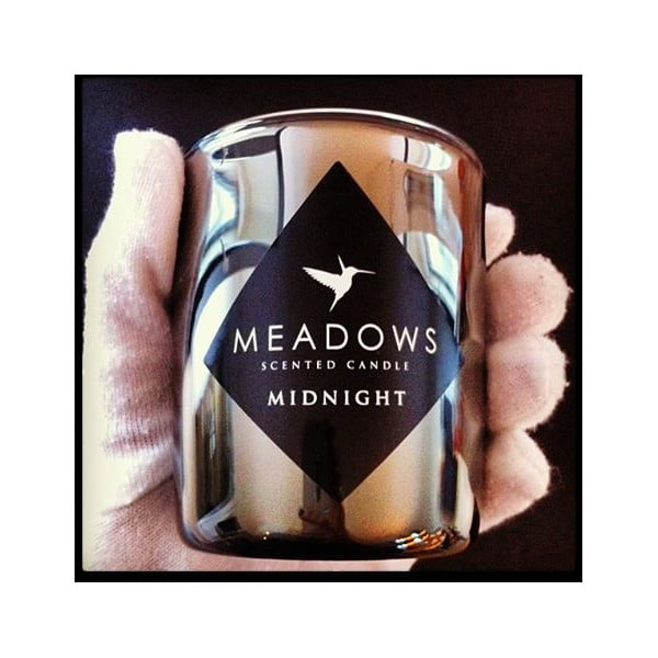 Svíčka Midnight Maxi 150 hodin - kadidlo, jantar a pinie