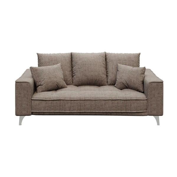 Canapea cu 2 locuri devichy Chloe, bej închis