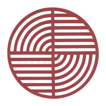Suport din silicon pentru vase fierbinți Zone Trudo, roșu imagine