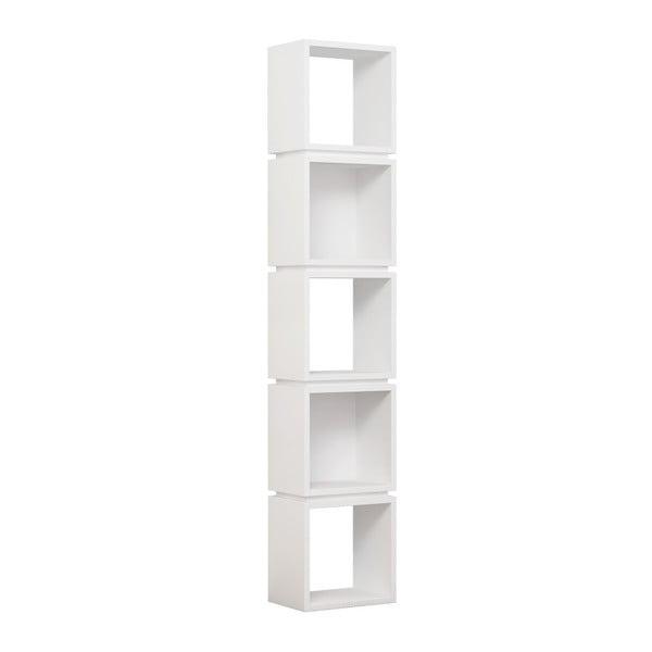 Bibliotecă Multi White, alb
