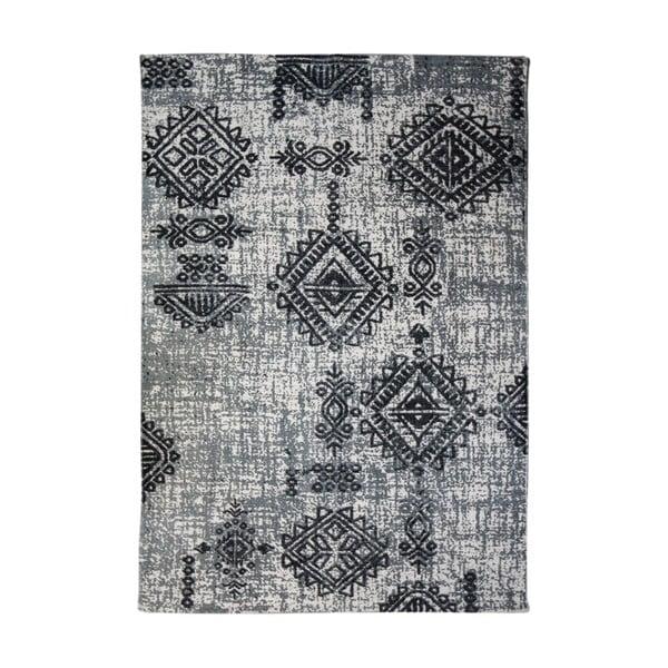Šedý bavlněný koberec HSM collection Colorful Living Lurro, 160 x 230 cm