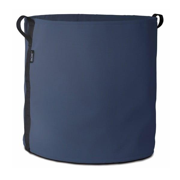 Tmavě modrý květináč, 100 L