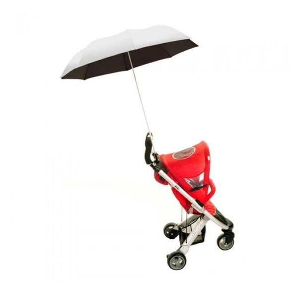 Deštník na kočárek Buggy Brolly, silver