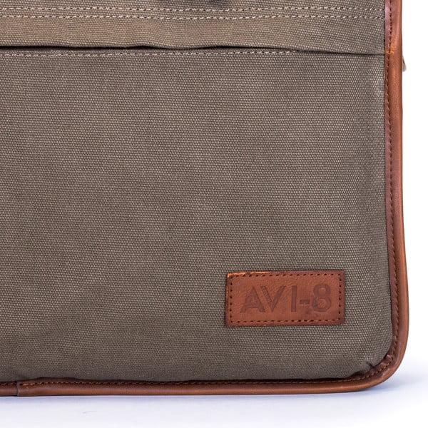 Taška na notebook Avi-8, hnědá