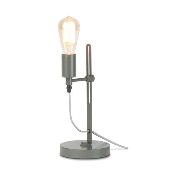Sivá stolová lampa Citylights Seattle