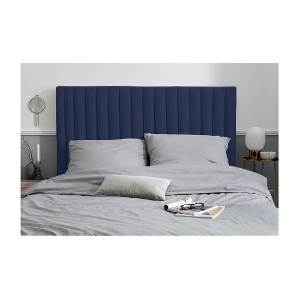 Tmavě modré čelo postele Cosmopolitan design NJ, 160x120cm