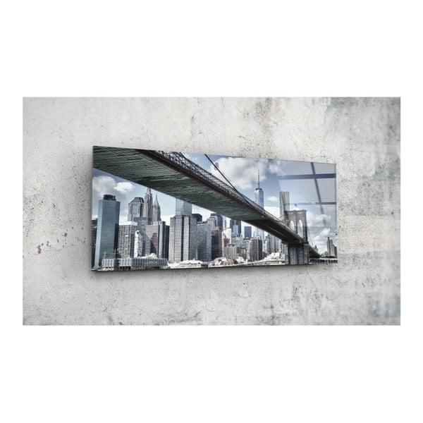 Tablou din sticlă Insigne Edwin, 92 x 36 cm