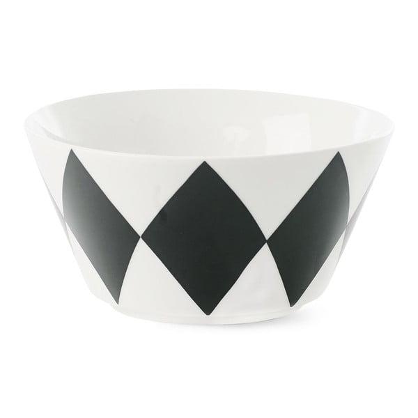 Porcelánová miska Étoile Harlequin Black