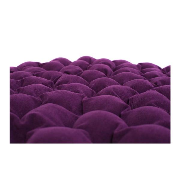 Pernă relaxare cu bile de masaj Linda Vrňáková Bloom, Ø 75 cm, violet