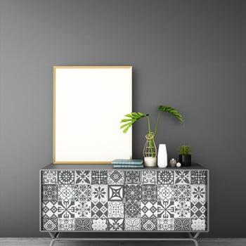 Set 60 autocolante de mobilier Ambiance Tiles Willema, 15 x 15 cm de la Ambiance