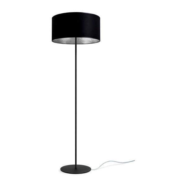 Mika fekete-ezüstszínű állólámpa, Ø40 cm - Sotto Luce