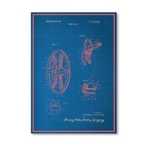 Plakát Film Reel, 30x42 cm