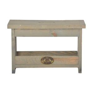 Stolička z borovicového dřeva Esschert Design, výška25,4cm