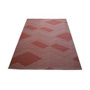 Covor foarte rezistent Floorita Red Retro, 200 x 250 cm