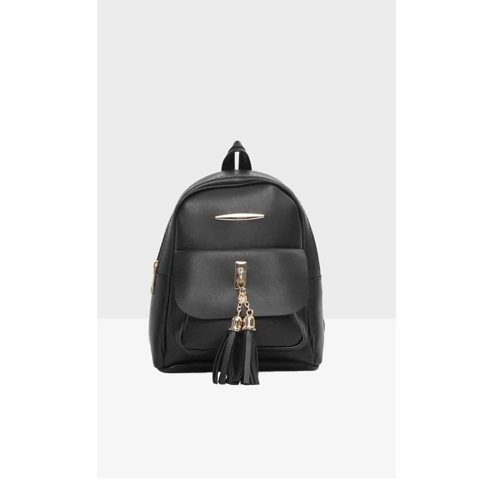 94d583678d0 Černý dámský batoh Mori Italian Factory Paresso Laro
