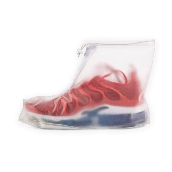 Transparentní pláštěnka na obuv Kikkerland Rain, délka 23 cm