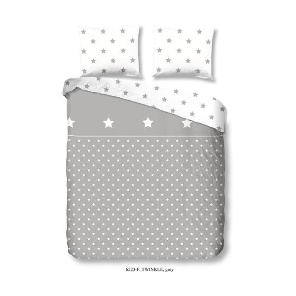 Flanelové bavlnené obliečky na jednolôžko Good Morning Twinkle, 140 × 200 cm