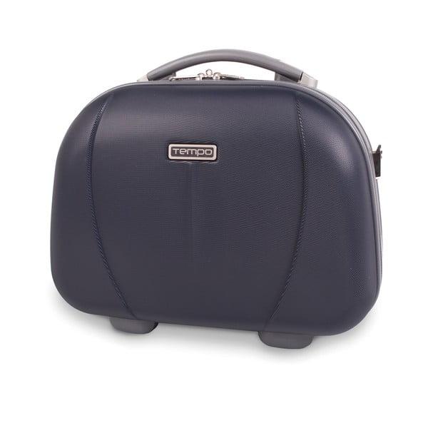 Kosmetická cestovní taška Tempo, tmavě modrá