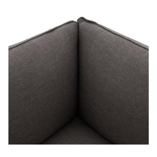 Světle šedá třímístná modulová pohovka Vivonita Cube
