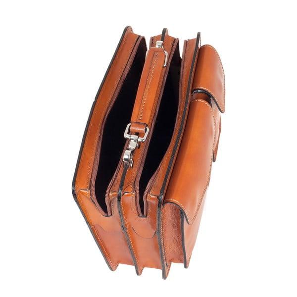 Kožená taška Ore Diece Perugia, medová