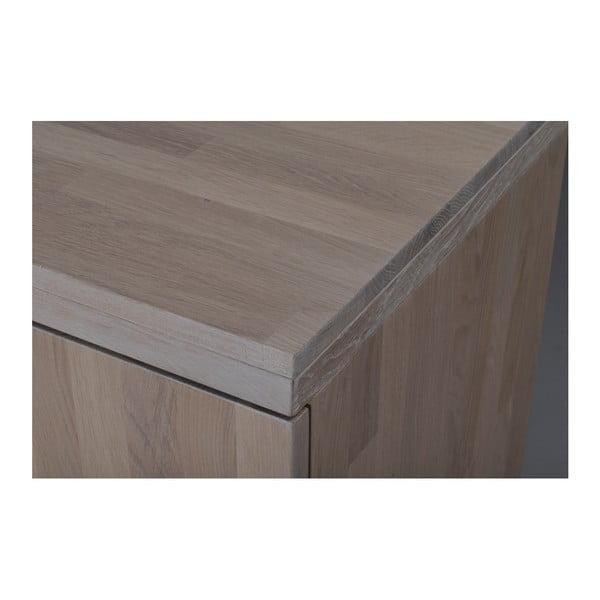 Stand mat din lemn de stejar pentru TV  Folke Heimdal