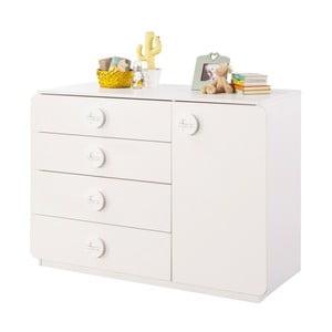 Bílá komoda Baby Cotton Large Dresser