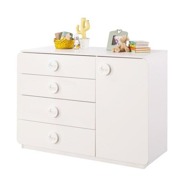 Baby Cotton Large Dresser fehér komód