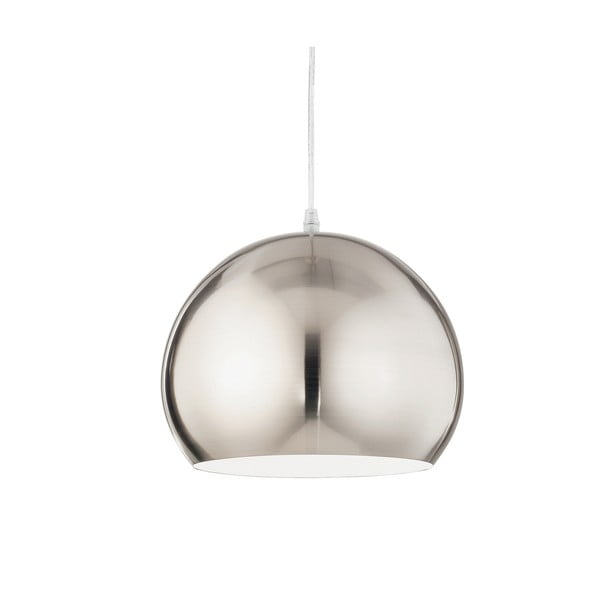 Lampa wisząca Evergreen Lights Crido Globe Nickel