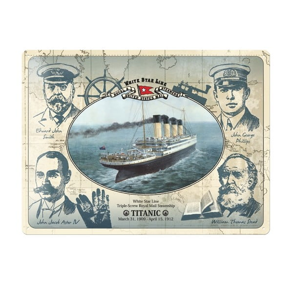 Cedule Titanic, 30x40 cm