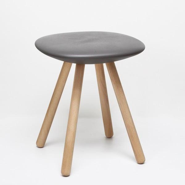 Dětská stolička Sgabello Basso, šedá
