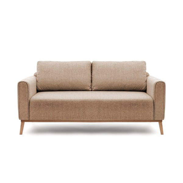 Canapea pentru 3 persoane Vivonita Milton, maro deschis