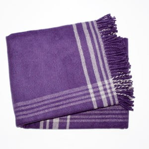 Deka Elva Purple, 140x180 cm