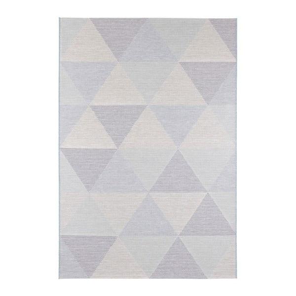 Modrý koberec vhodný i na ven Elle Decor Secret Sevres, 80 x 150 cm
