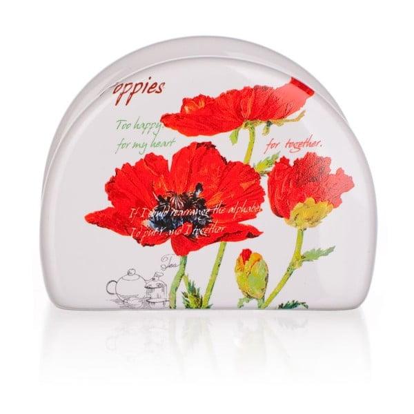 Stojan na ubrousky Red Poppies