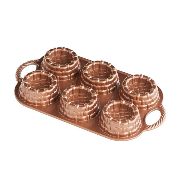 Formă pentru copt 6 coșulețe Nordic Ware Mini Marianne, 700 ml