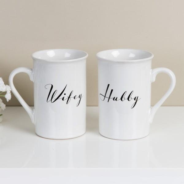 Sada 2 hrnečků Amore Hubby and Wifey, 280ml