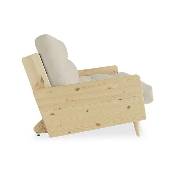 Canapea extensibilă Karup Design Indie Natural/Beige