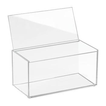 Organizator cu capac iDesign Clarity