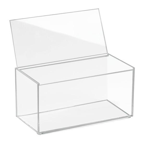 Transparentní organizér s víkem iDesign Clarity
