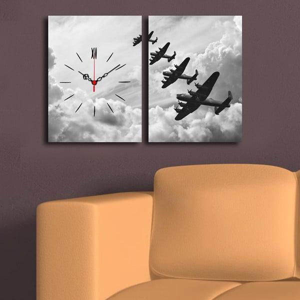 Obrazové hodiny Mezi mraky